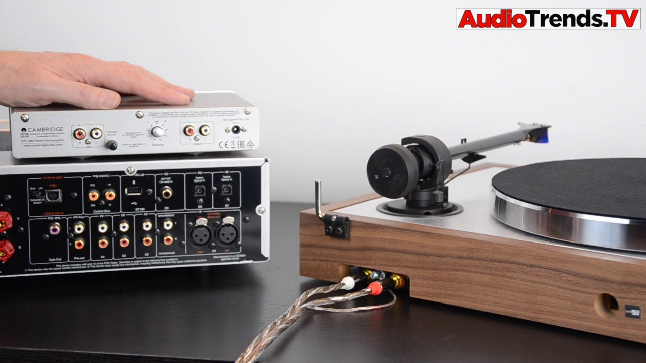how to connect a pre amp to a turntable  [ 1280 x 720 Pixel ]
