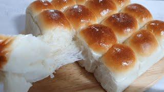 만들기 제일 쉬운  요거트 모닝빵~~꿀과 요거트를 넣어…
