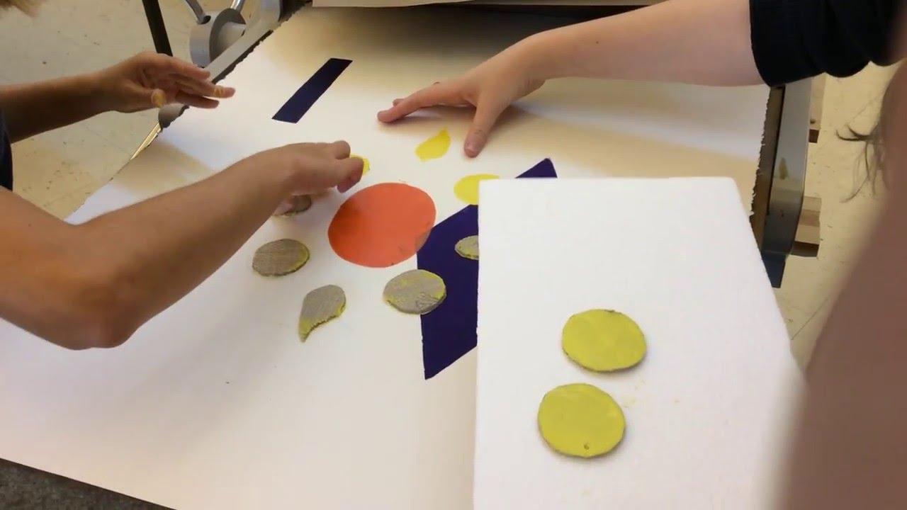 Linoleum Printmaking Process