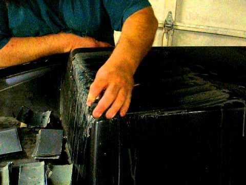 how to build a fiberglass mold