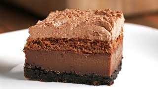 4-Layer, 4-Texture Chocolate Cake