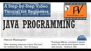 Java Tutorial for Beginners - Original Step by Step
