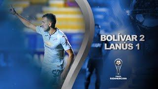 Bolívar vs. Lanús [2-1] | RESUMEN | Octavos de Final | CONMEBOL Sudamericana