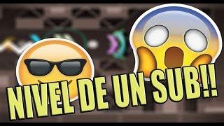 GEOMETRY DASH[2.01]:Nivel De Un Sub!! (Dedicado a mi) ^^