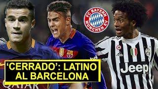 Por fin Barcelona 'cierra' fichaje de un crack | Cuadrado: 'nuevo jugador del Bayern Munich'