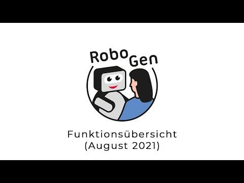 RoboGen Funktionsübersicht