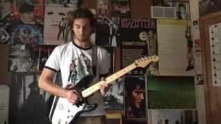 LED ZEPPELIN- CMON EVERYBODY/SOMETHIN ELSE LIVE AT ROYAL ALBERT HALL GUITAR COVER