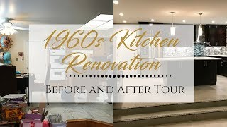 1960s Kitchen Renovation | Before and After Tour