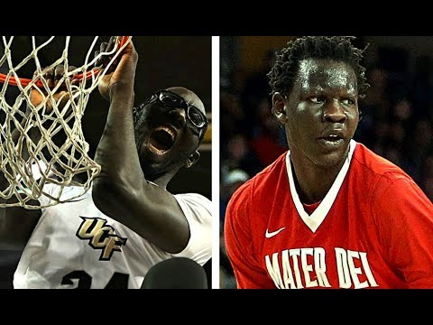 Tacko Fall vs Bol Bol Basketball Highlights Mix - YouTube