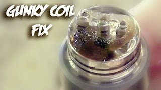 Vaping E-Cigs Cleaning Your Gunky Coils!