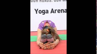 SUNITA WADHAWAN YOGA AT HAPPY STREET 2