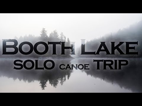 Booth Lake, Algonquin Park - Solo Canoe Trip - October 2017