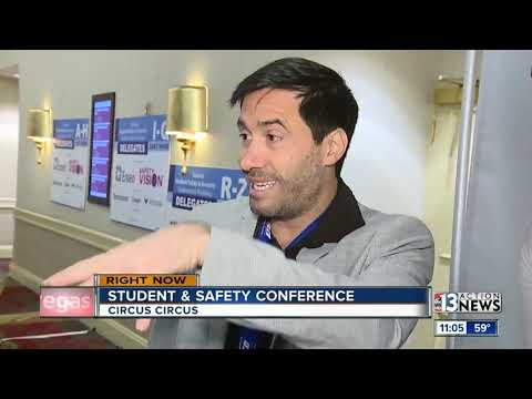 School leaders discussing school safety