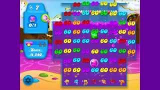 Candy Crush Soda Saga Level 19 CRAZY! color bomb + bubble bomb COMBO!