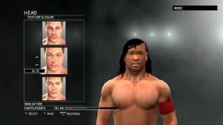 WWE 2K17:Shinsuke Nakamura CAW formula(Xbox 360/PS3)