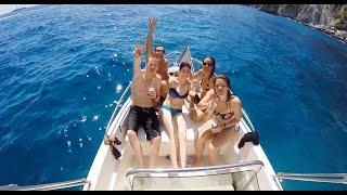 Capri boat trip - neapel/ italien [gopro]