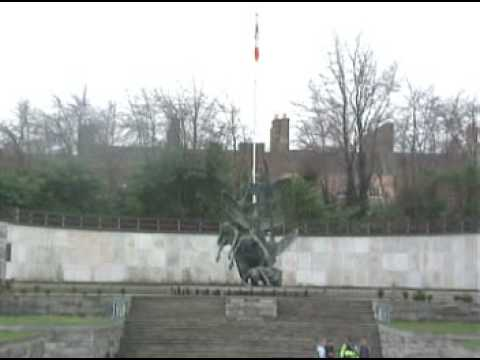 Dublin - O'Connell Street & The Garden of Remembrance