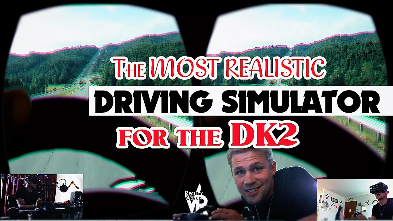 the most realistic driving simulator yet oculus rift dk2 youtube. Black Bedroom Furniture Sets. Home Design Ideas