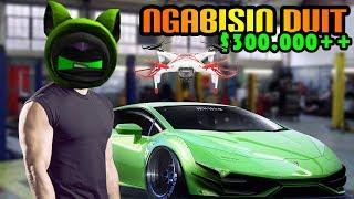 ROBLOX Indonesia   Buy Drone & Modif cars Abis + $300000 +!!! 😱😂