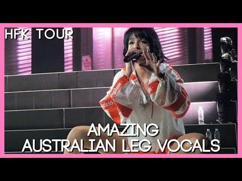 Halsey KILLING New Vocals In Australia! (HFK Tour)