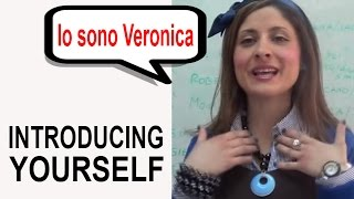 Italian Language Course - One World Italiano Video Course - Lesson 1(In this first Italian lesson, Veronica explains how to introduce yourself, say where you are from and what you do. Come and learn Italian with Veronica and the ..., 2013-03-14T17:56:02.000Z)
