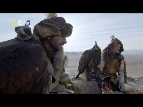 Chassser à l'aigle avec les Kazakhs de Mongolie