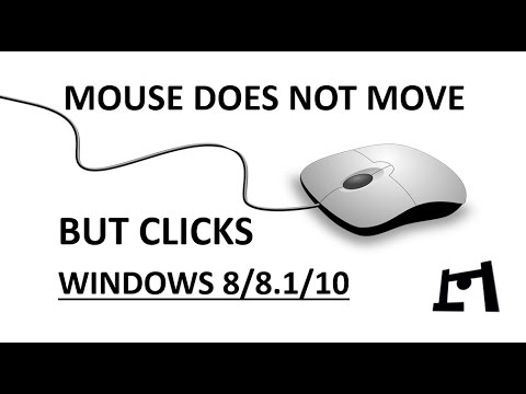 [FIXED] Mouse Clicks But Does Not Move | Windows 8/8 1/10 | 2017