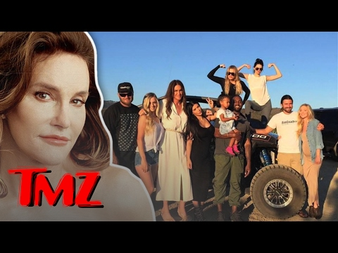 Caitlyn Jenner's First Father's Day! | TMZ