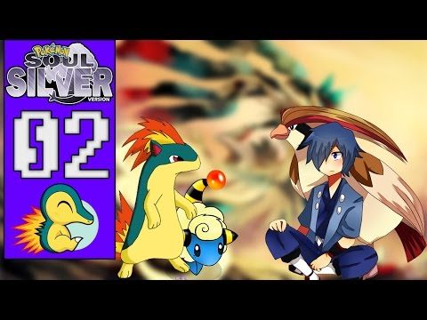 Pokémon Soul Silver #02 - O DUELO NAS ALTURAS CONTRA FALKNER! (1080p/2016)
