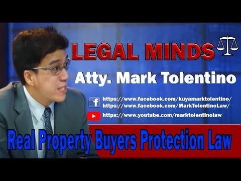 Real Property Buyers Protection Law