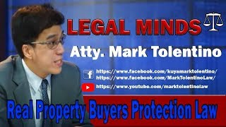 Gambar cover LM: Real Property Buyers Protection Law