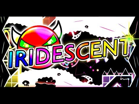 Geometry Dash | IRIDESCENT BY VIPRIN ~ FAST PACE FUN