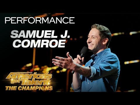 Samuel J. Comroe: Funny Comedian Breaks Down Male Stereotypes - America's Got Talent: The Champions