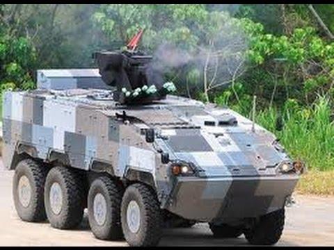 U 23 Vs Singapura 雲豹裝甲車 測試...