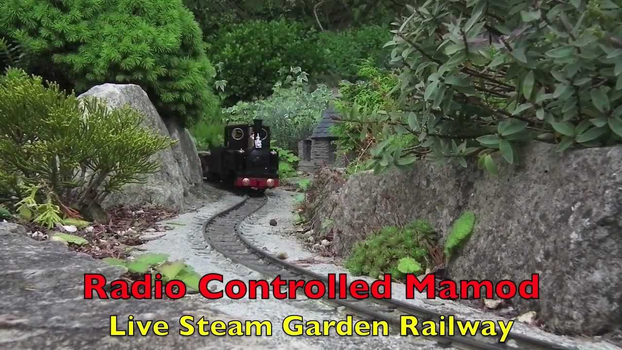 Radio Controlled Mamod Live Steam Garden Railway Youtube