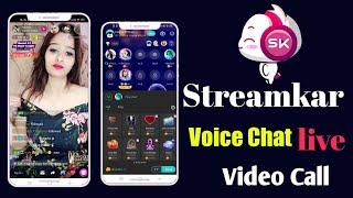 Streamkar Video Call And Voice Chat app New Account Create Kaise kholen screenshot 2
