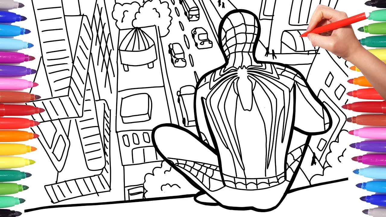 Spiderman Coloring Pages Printable Free Coloring Page | Spiderman ... | 720x1280