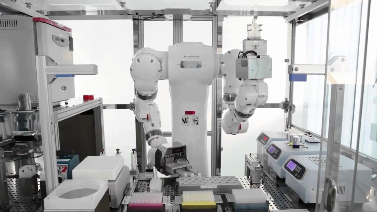 Robot Yaskawa Motoman Clean Room Youtube