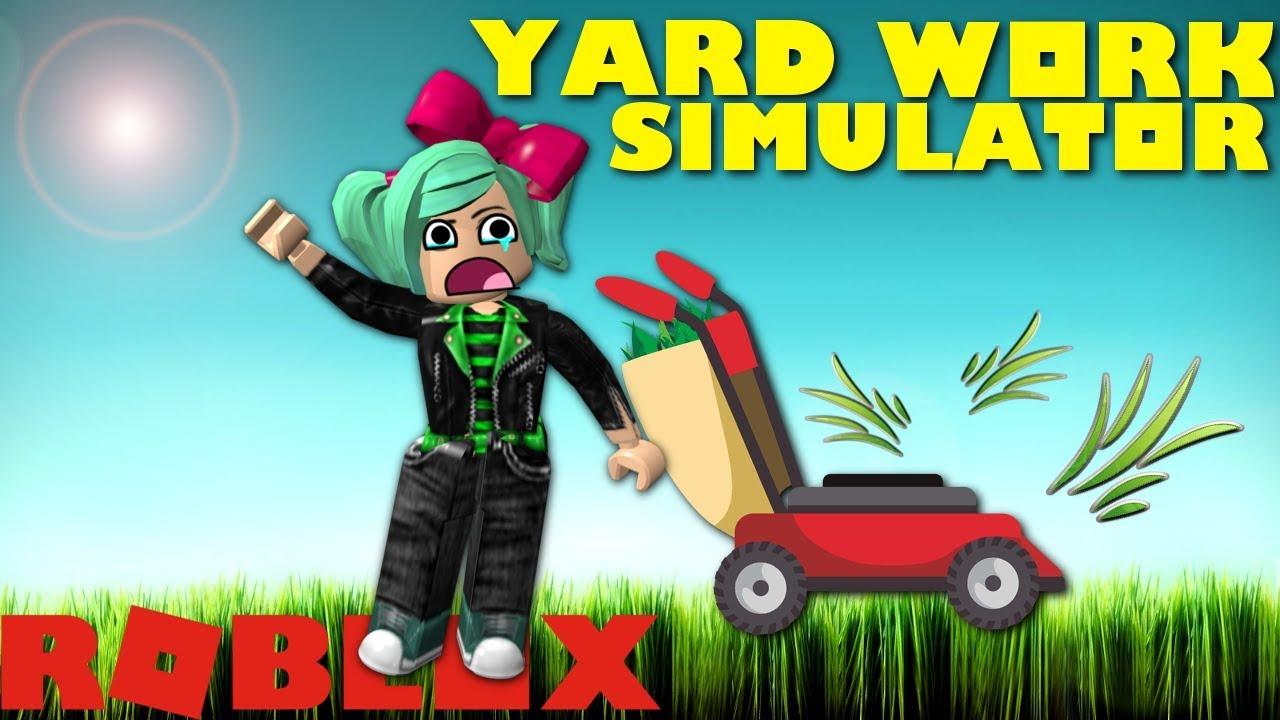 codes for yard work simulator roblox