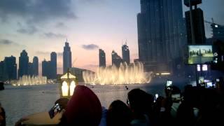 Baba Yetu-Dancing Fountain Burj Khalifa - Baba Yetu --