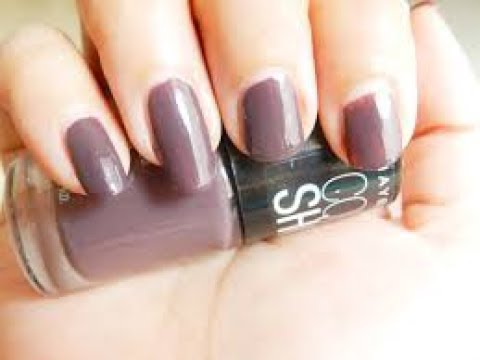 Maybelline Color Show Nail Paint Swatches - YouTube