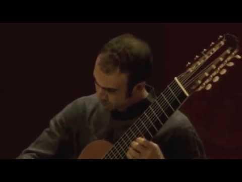 J.S. Bach: Prelude  BWV1012 - Nicolò Spera, 10-string guitar