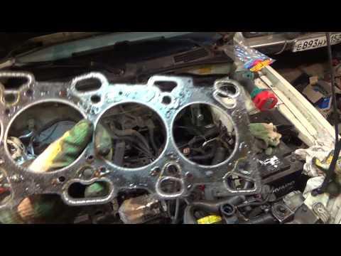 Фото к видео: Замер компрессии и снятие ГБЦ на G4JS.KIA OPTIMA LX