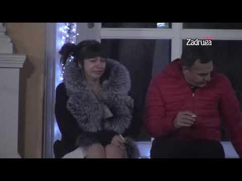 """Zadruga 3 - Miljana Plače Uz Pesmu """"Crne Oči"""" Zbog Zole - 17.12.2019."""