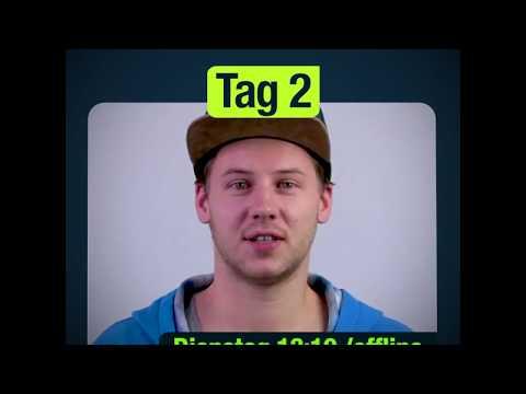 1-2-SCIENCE Social Web Detox Tag 2: Matthias wird zum Alien