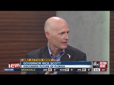 Dan Shaffer interviews Florida Governor Rick Scott -- May 6, 2014