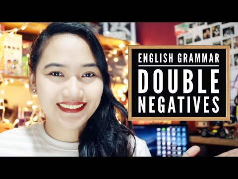 Double Negatives - Sentence Correction Tips - CSE and UPCAT Review
