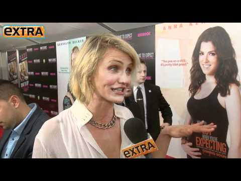 Cameron Diaz on Her Prosthetic Belly