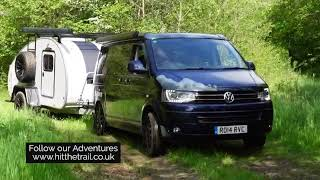 Off road with our VW T5 and Hero Ranger