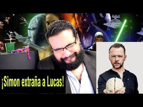 Noticias Star Wars: ¡Simon Pegg quiere a George Lucas de regreso!